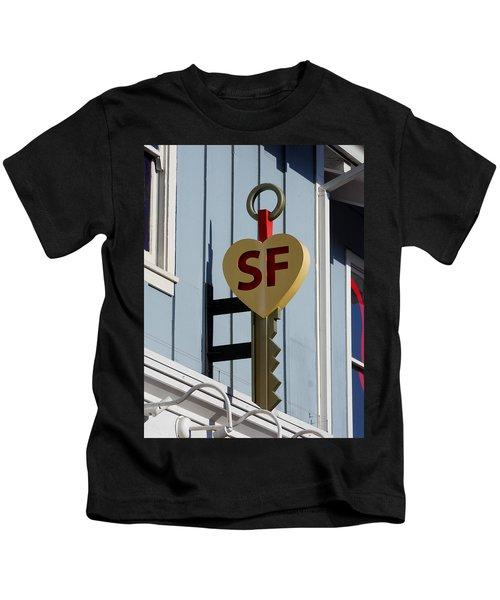 The Key To San Francisco Kids T-Shirt