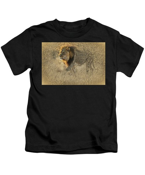 The King Stalks Kids T-Shirt