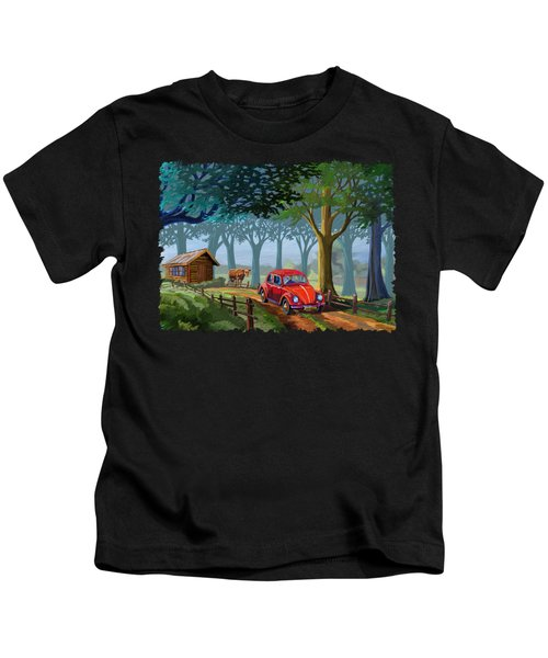 The Little Red Beetle Kids T-Shirt