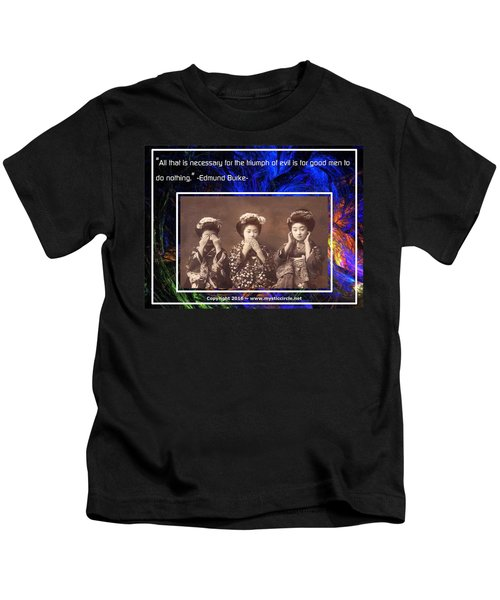 The Mystic Circle Inspirational Series One Five Kids T-Shirt