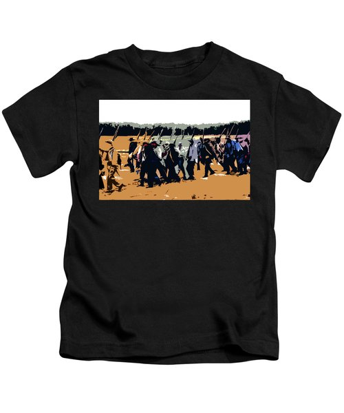 The Never Ending March Kids T-Shirt