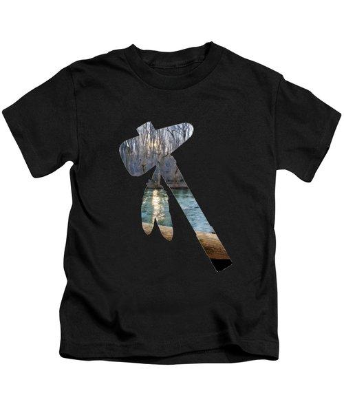 The Shape Of History Kids T-Shirt