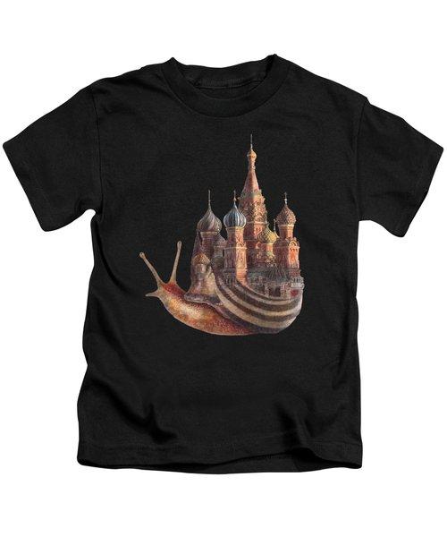 The Snail's Daydream Kids T-Shirt