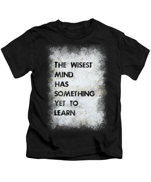 The Wisest Mind Kids T-Shirt