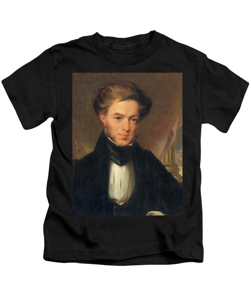 Portrait Of Thomas Ustick Walter, 1835 Kids T-Shirt