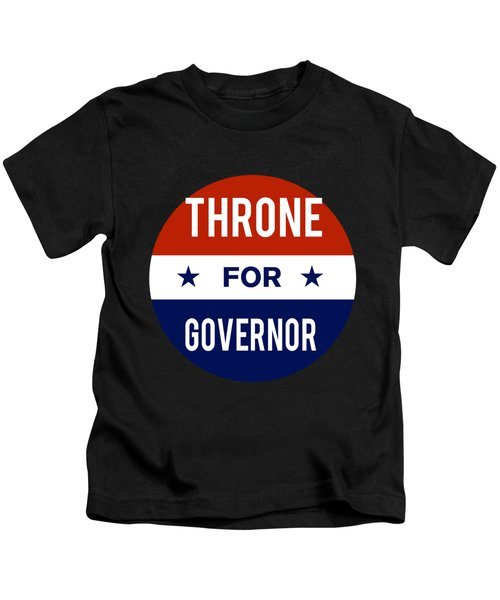 Throne For Governor 2018 Kids T-Shirt
