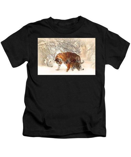 Tiger Family Kids T-Shirt