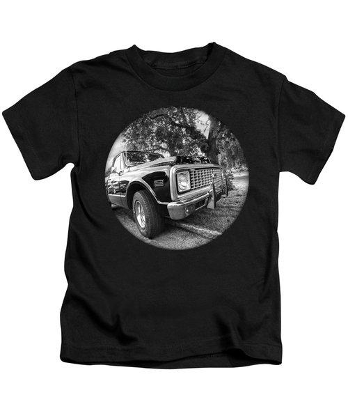 Time Portal - '71 Chevy Kids T-Shirt