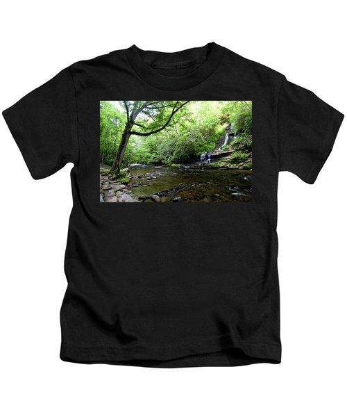 Tom Branch Falls On Deep Creek Kids T-Shirt