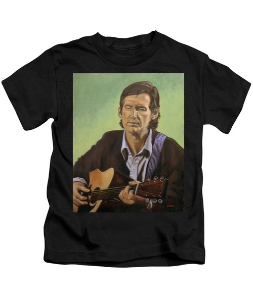 Townes Van Zandt Kids T-Shirt