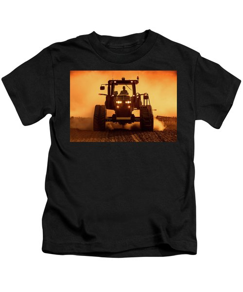 Tractor And Dust Kids T-Shirt