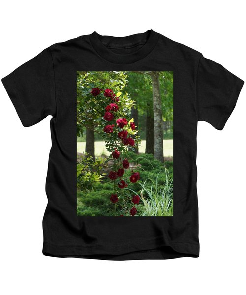 Tree Of Roses Kids T-Shirt