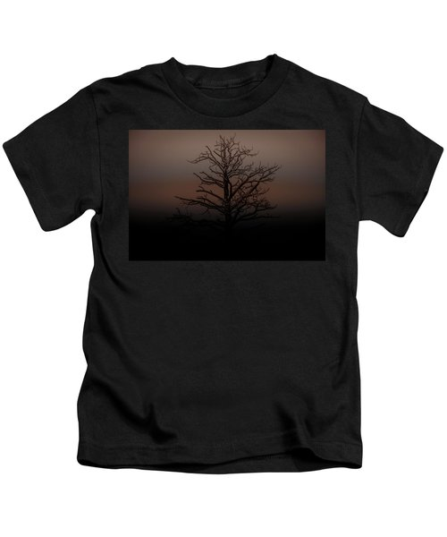 Tree Silhouette  Kids T-Shirt