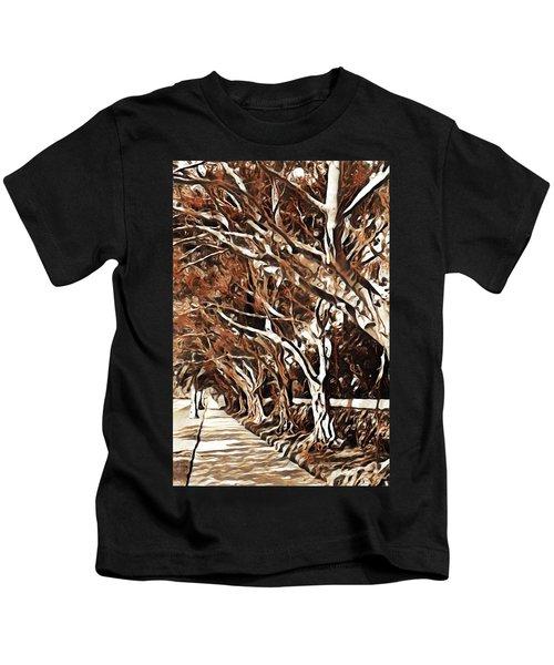 Treelined Kids T-Shirt