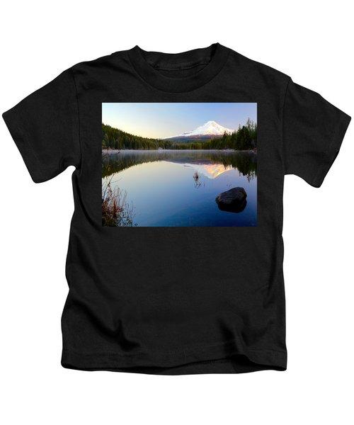 Trillium At Dawn Kids T-Shirt