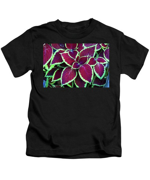 Tropical Leaves Kids T-Shirt