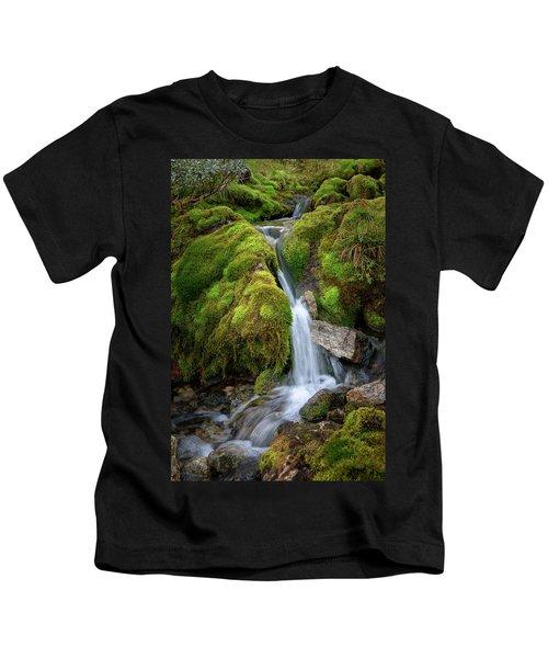Tufteelvi, Norway Kids T-Shirt