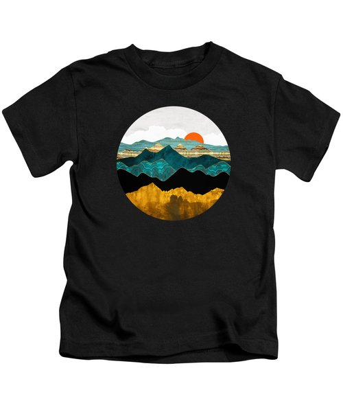 Turquoise Vista Kids T-Shirt