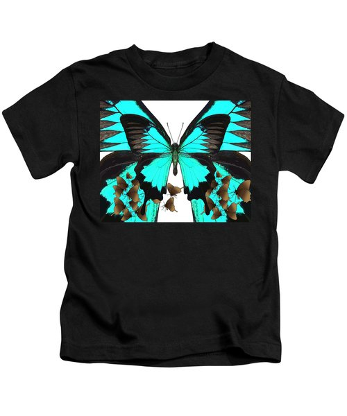 U Is For Ulysses Butterfly Kids T-Shirt