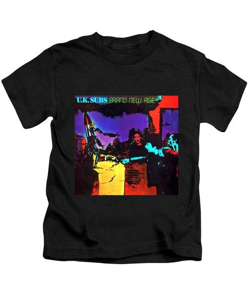U.k. Subs - Brand New Age Album Kids T-Shirt