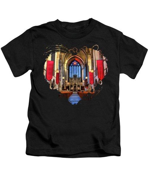 University Of Chicago Rockefeller Chapel Kids T-Shirt