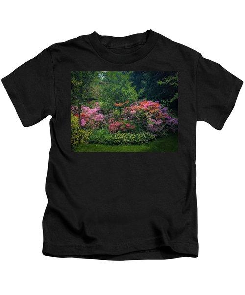 Urban Flower Garden Kids T-Shirt