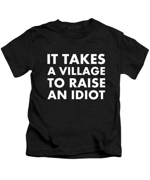 Village Idiot Wt Kids T-Shirt