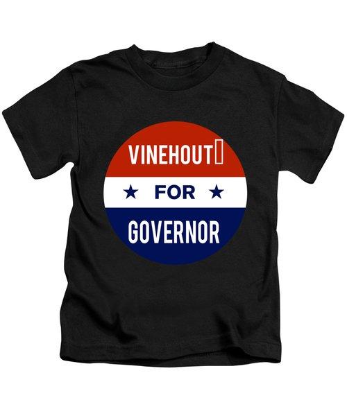 Vinehout For Governor 2018 Kids T-Shirt