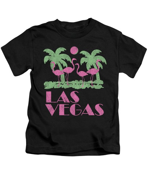 Vintage Las Vegas Kids T-Shirt