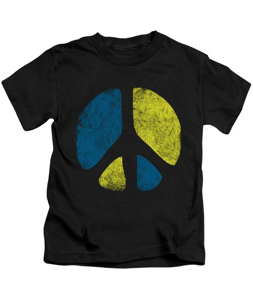 Vintage Peace Sign Kids T-Shirt