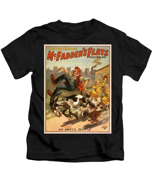 Vintage Poster - Mcfadden's Flats Kids T-Shirt