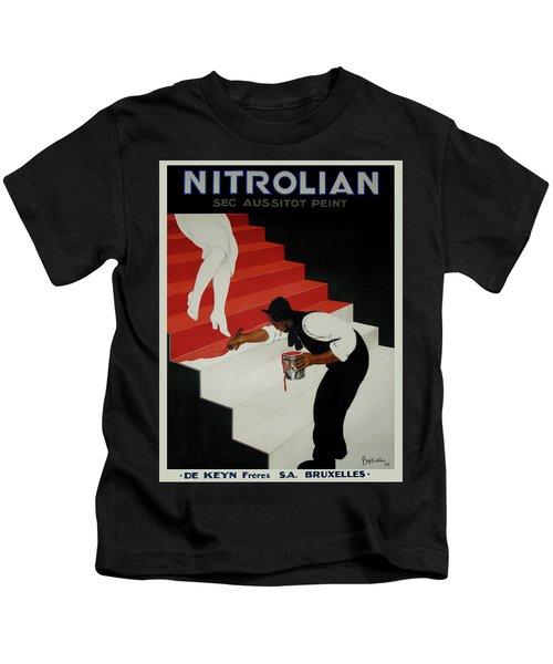 Vintage Poster - Nirolilan Kids T-Shirt