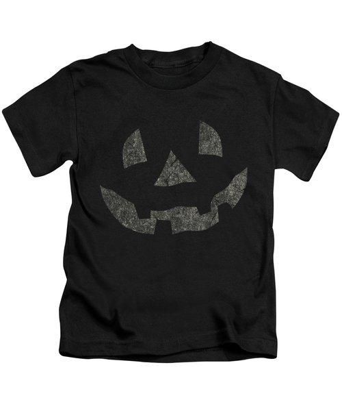 Vintage Pumpkin Face Kids T-Shirt