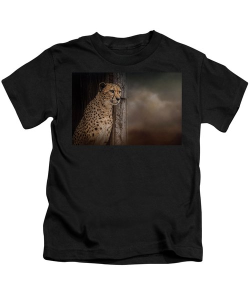 Waiting Out The Storm Kids T-Shirt