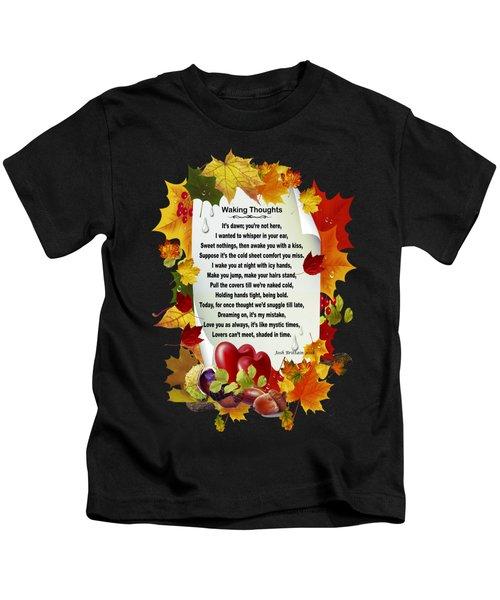 Waking Thoughts Kids T-Shirt