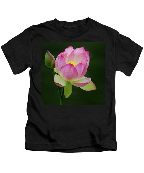 Water Lily In The Pond Kids T-Shirt