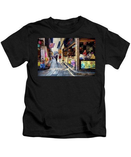 Water Village II Kids T-Shirt