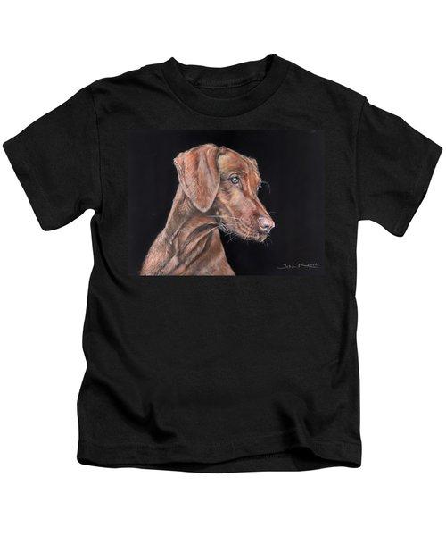 Weimaraner Portrait Kids T-Shirt
