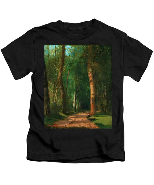 Went Into A Forest - Digital Remastered Edition Kids T-Shirt