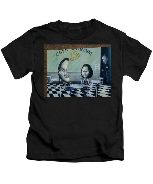 When World Collide Pt 2 Kids T-Shirt
