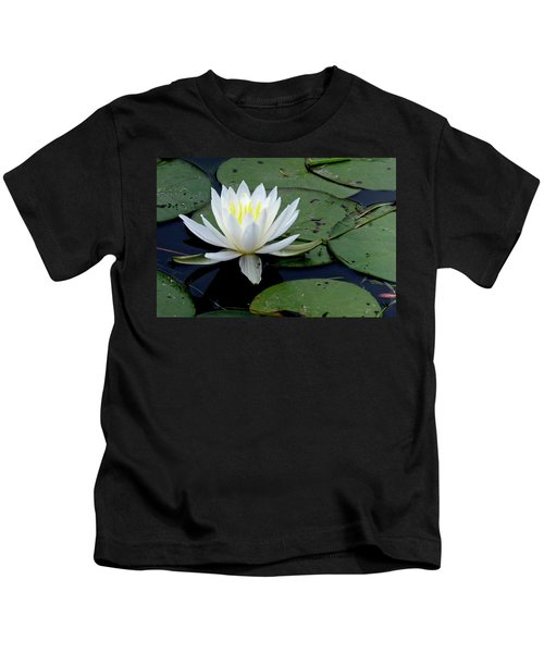 White Water Lilly Kids T-Shirt