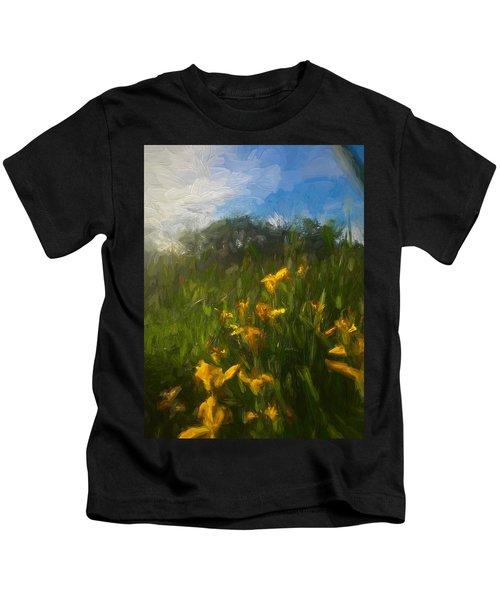 Wildflowers Kids T-Shirt
