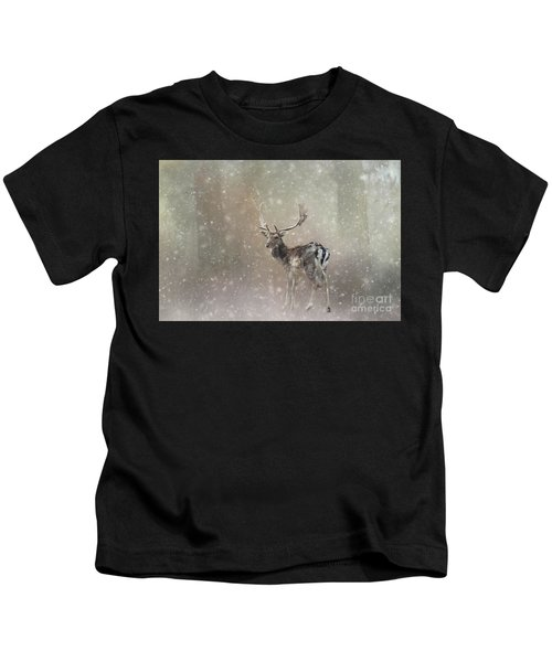 Winter In The Woods Kids T-Shirt