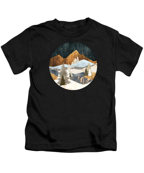 Winter Stars Kids T-Shirt