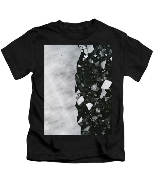 Winters Edge - Aerial Photography Kids T-Shirt