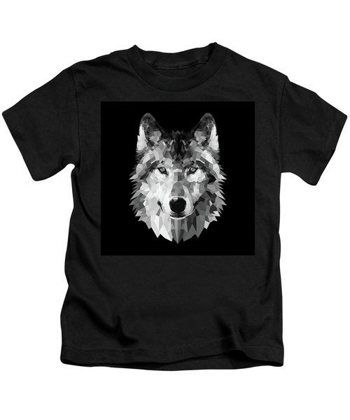Wolf's Face Kids T-Shirt