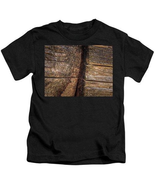 Wooden Wall Kids T-Shirt