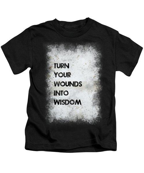 Wounds Into Wisdom Kids T-Shirt