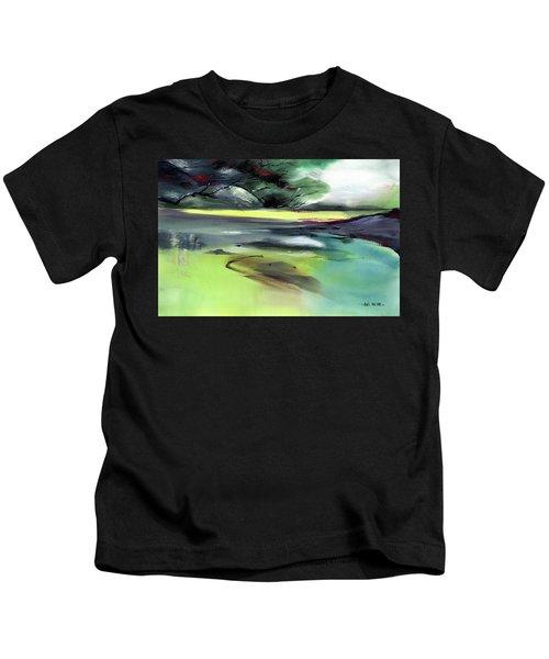 Yellow Lake Kids T-Shirt