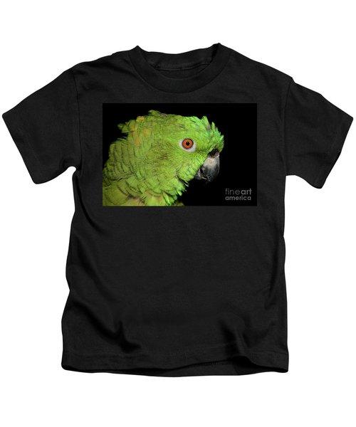 Yellow-naped Amazon Kids T-Shirt